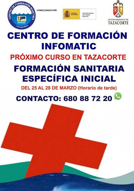 Curso de Formación Sanitaria Específica Inicial en Tazacorte
