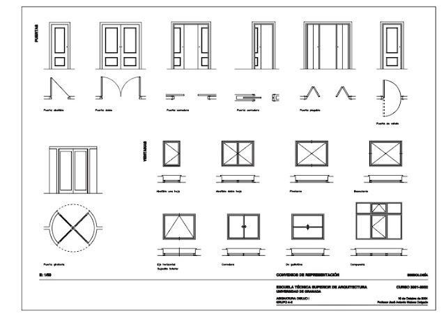 Rc i e s gran v a alicante el lenguaje arquitect nico for Como leer planos arquitectonicos pdf