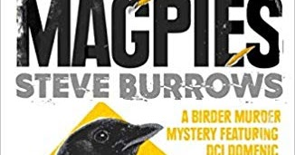 Promoting Crime Fiction By Lizzie Hayes A Tiding Of Magpies Steve Burrows