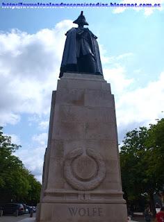Estatua del general James Wolfe