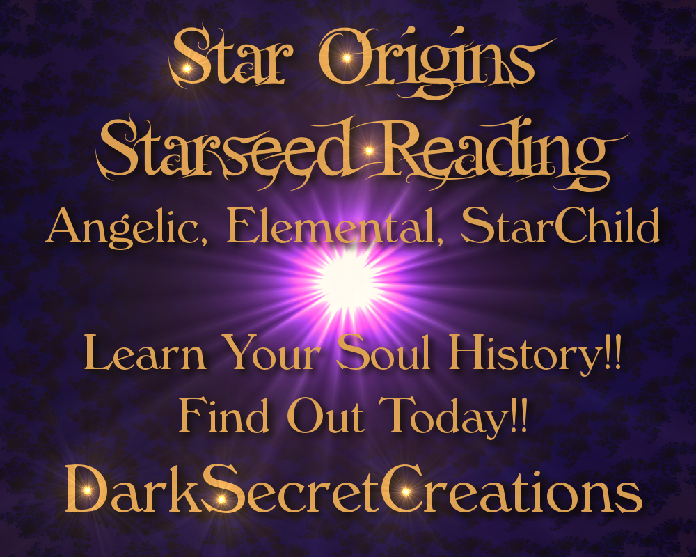 Dark Secret Creations: Are You A Starseed?