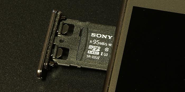 ソニーmicroSDカード「SR-32UZA」をレビュー