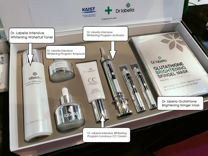 Dr. labella Intensive Whitening Program set