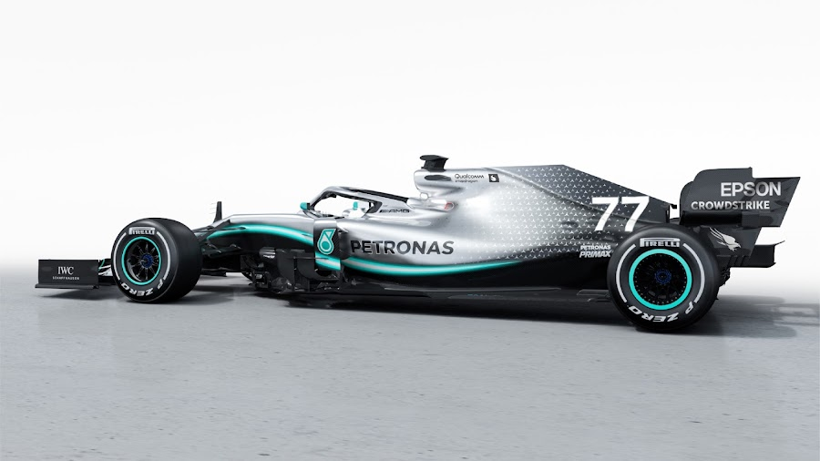 Mercedes AMG Petronas W10 F1 2019 Wallpaper