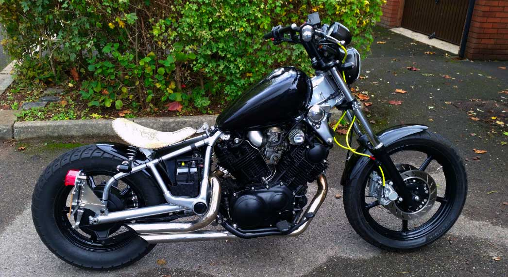Virago Seat Modification In Bobber Style