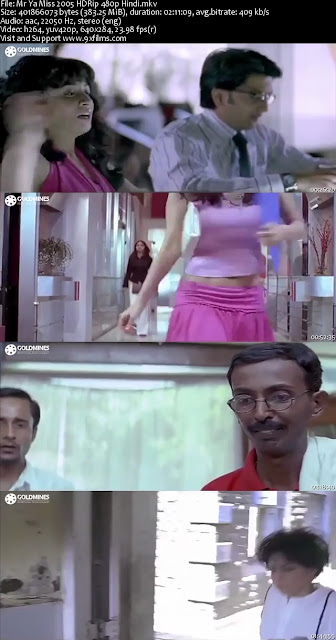 Mr Ya Miss 2005 HDRip 480p Hindi