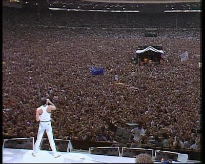 Queen - Wembley Concierto Viernes (Video)