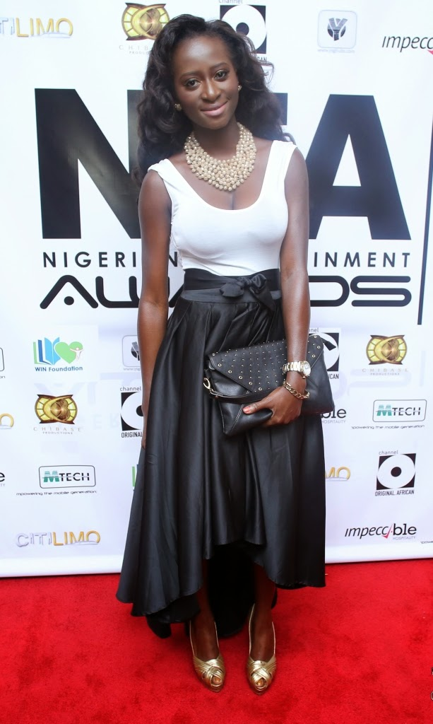 P67A9891 Red carpet photos from 2014 Nigeria Entertainment Awards