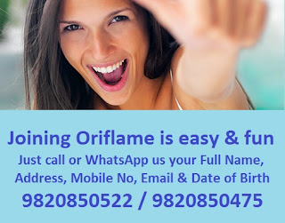 Join Oriflame in August 2018