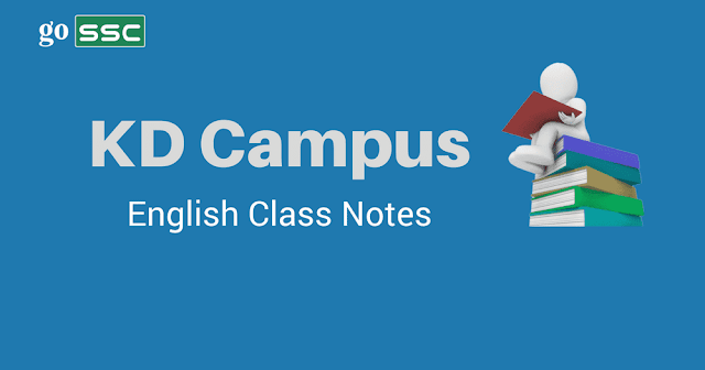 KD campus English Notes