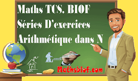 Séries d'exercices maths tronc conmun  bac intrnational (biof)