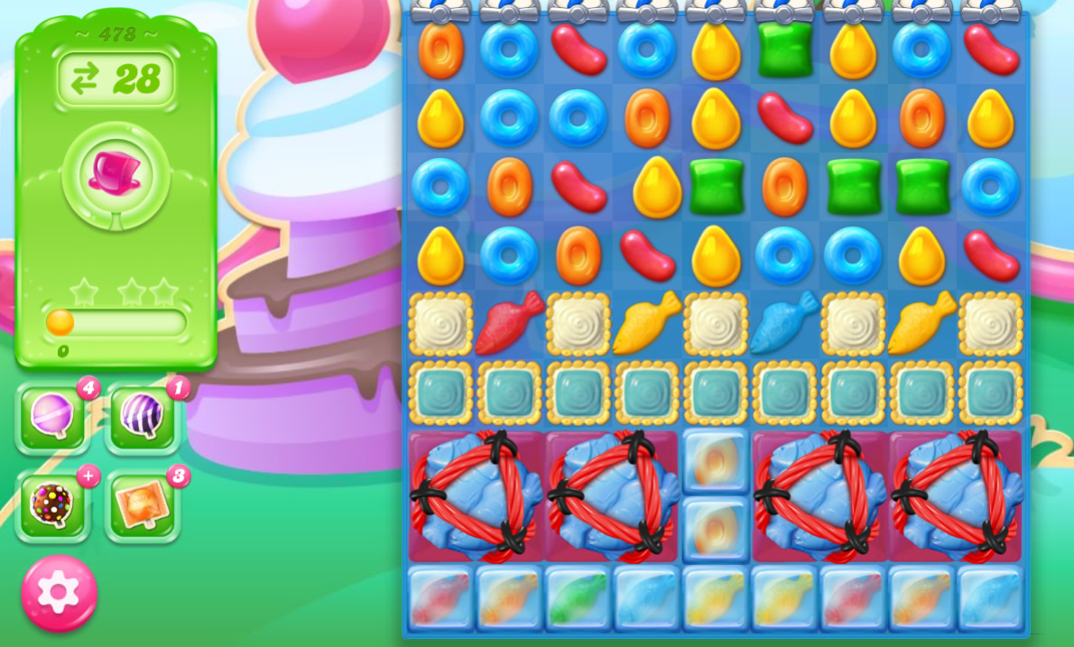 Candy Crush Jelly Saga 478