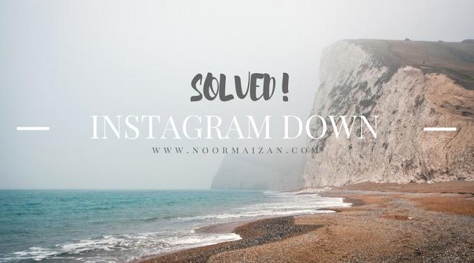 Penyelesaian Untuk Instagram Error dan Tak Dapat Download Instagram di Google Playstore