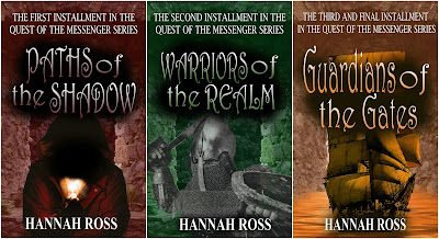 New covers for Quest of the Messenger