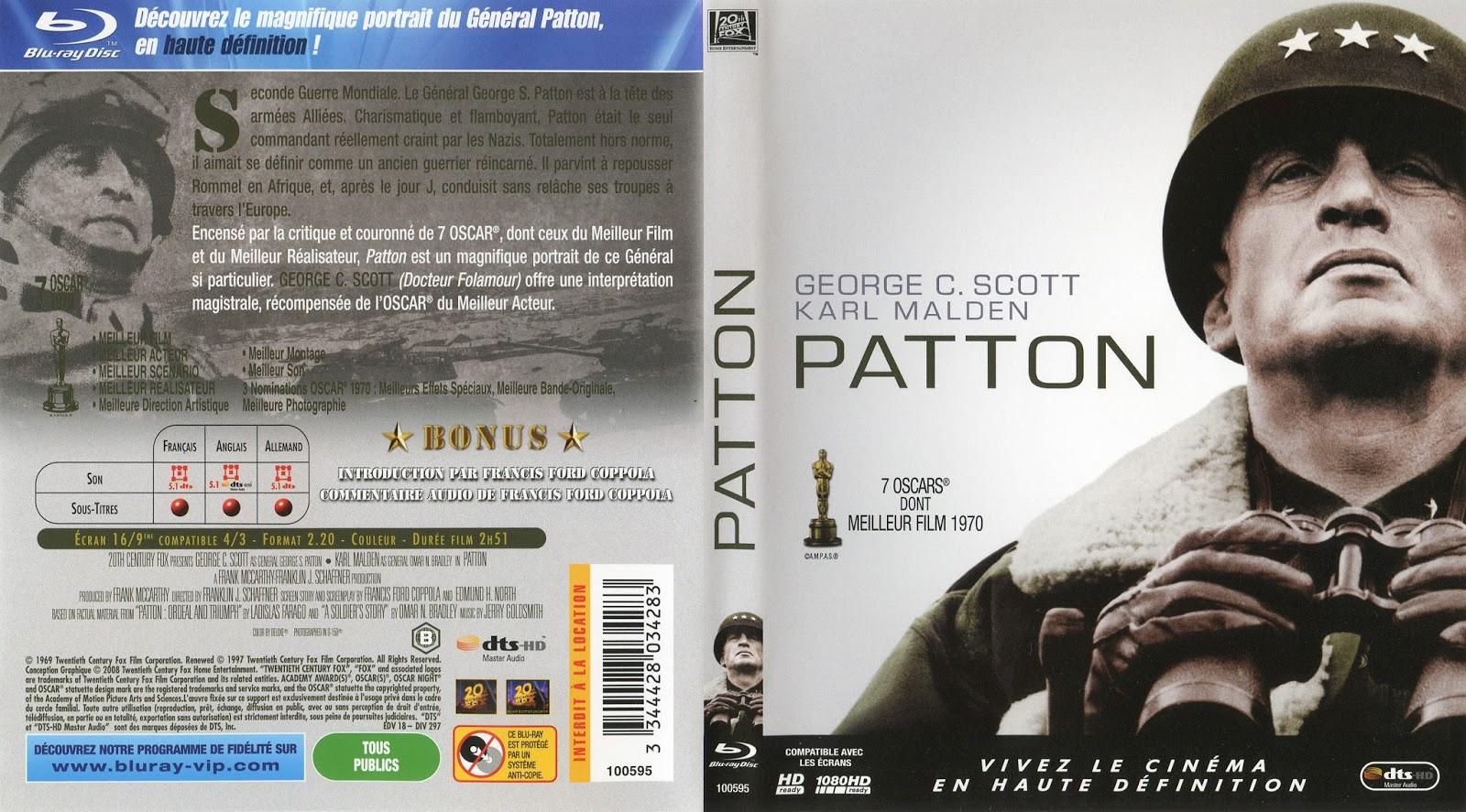 BLU-RAY JAQUETTES BLU-RAY: Patton