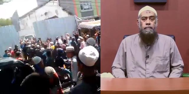 mesjid imam ahmad bin hanbal bogor di demo nu
