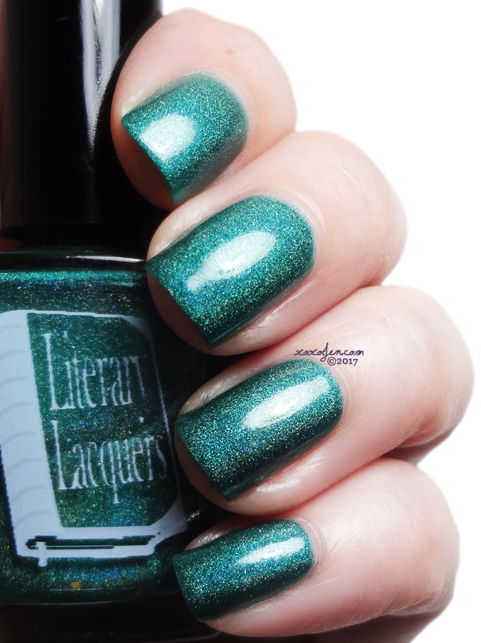 xoxoJen's swatch of Literary Lacquers Lake of Shining Waters