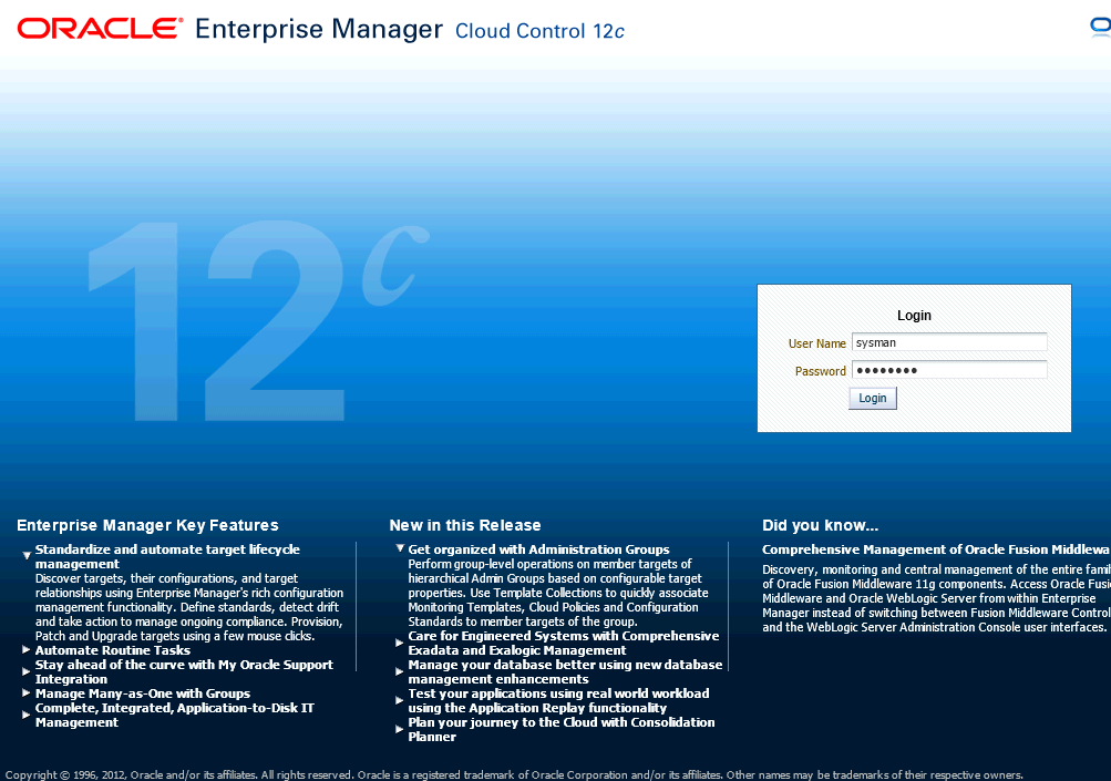 Cloud Control 12c (2/5) - Setup and Download Software - Ed