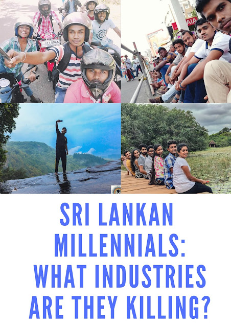 BUSINESS ENVIRONMENT : Sri Lankan Millennials: What industries are they killing?