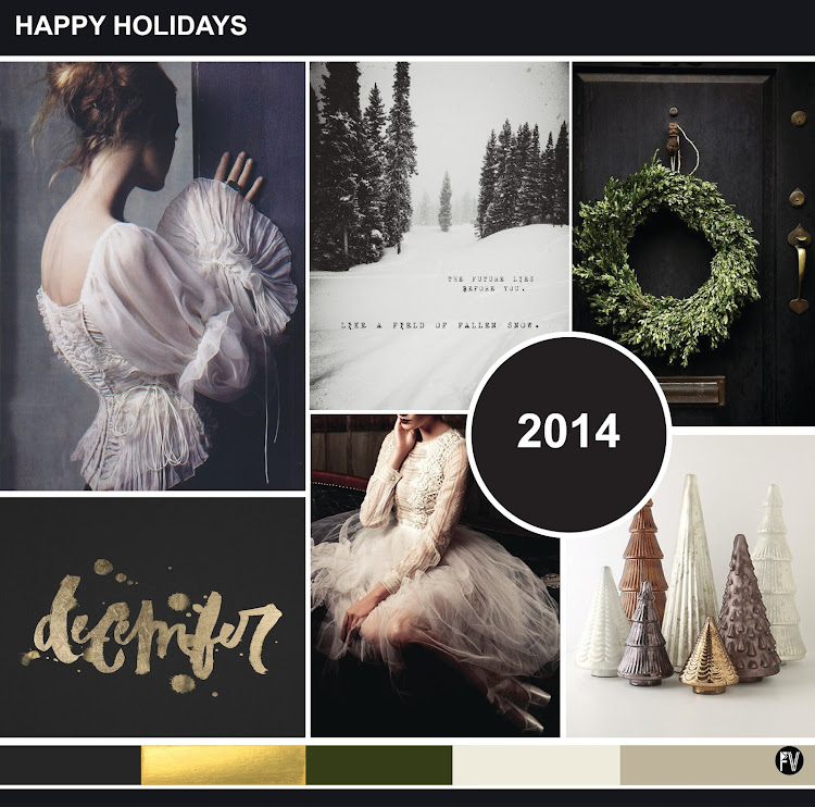 Happy Holidays Inspiration: FASHION VIGNETTE: INSPIRATION // HAPPY HOLIDAYS 2014