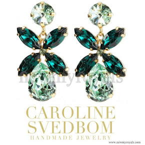 Princess Sofia style CAROLINE SVEDBOM Dione Earrings