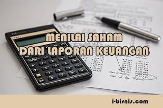 analisa laporan keuangan untuk menilai kinerja perusahaan