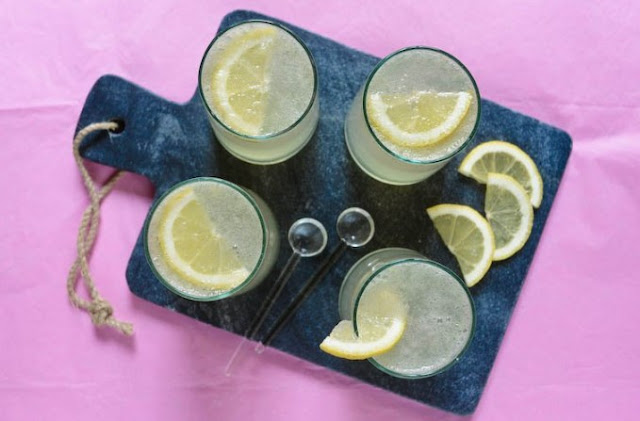 Sparkling Lemonade #drink #summer