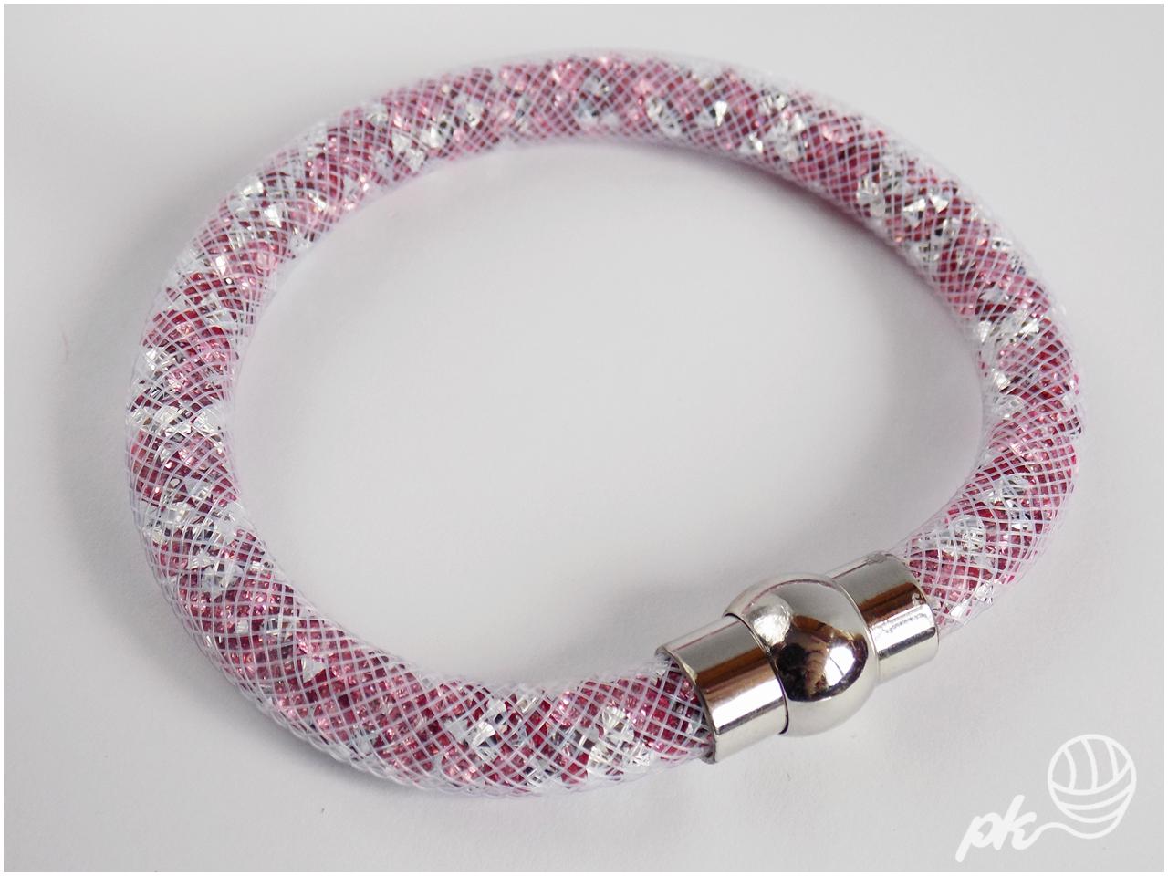 siatka jubilerska, bransoletka, biżuteria, handmade, rękodzieło