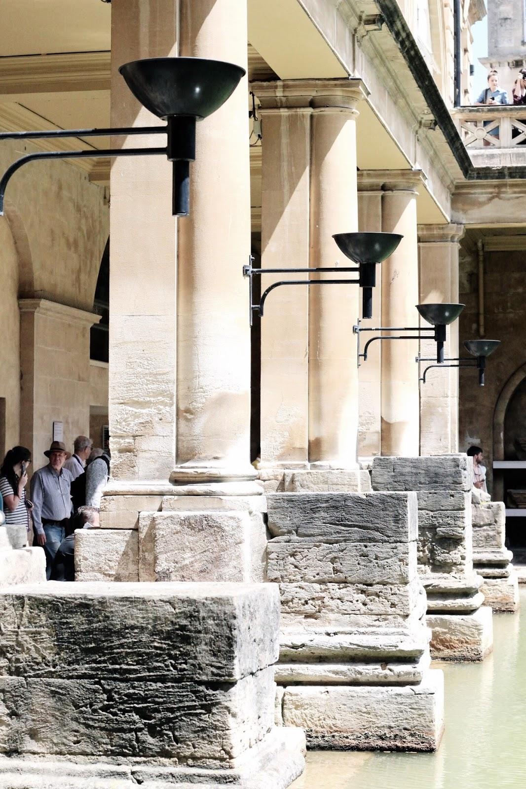UK Travel Blog Roman Baths Summer 2017