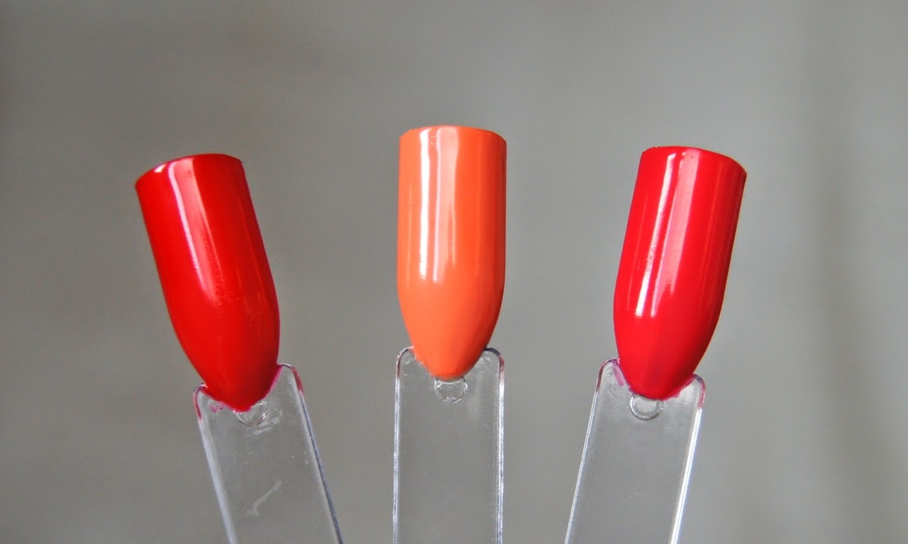 revlon parfumerie scented nail enamel swatches china flower apricot nectar ginger melon