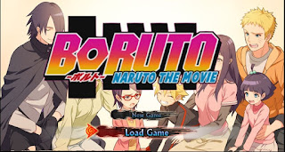 Boruto PPSSPP For Android Terbaru Updated 2017 | Mod Texture  - wasildragon.web.id