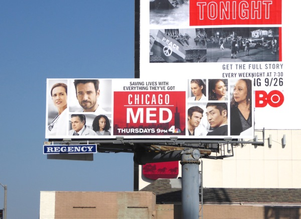 Chicago Med season 2 billboard
