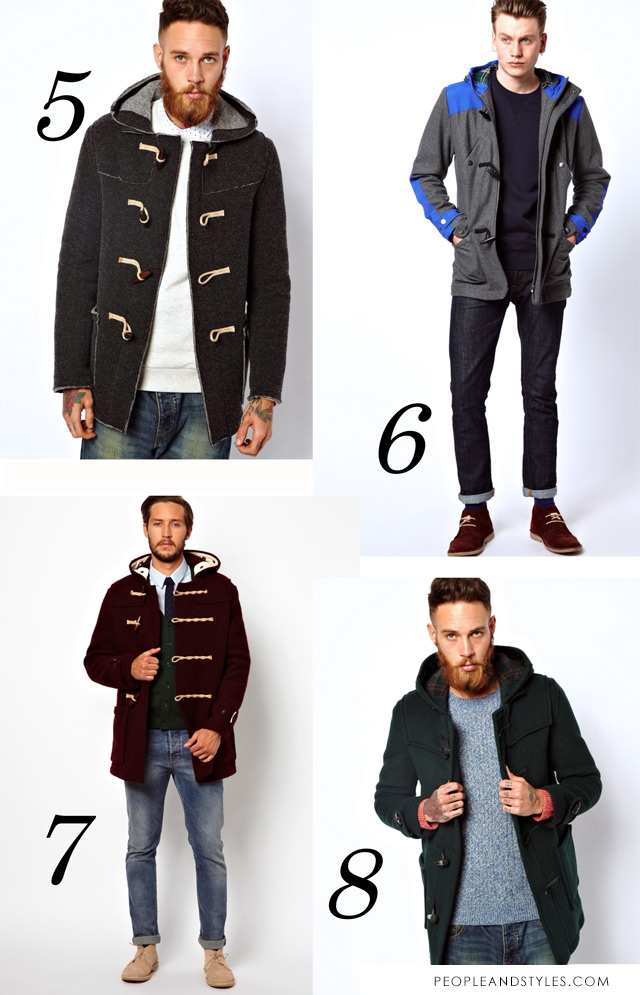 duffle coat, mens duffle coat, gentleman style fashion
