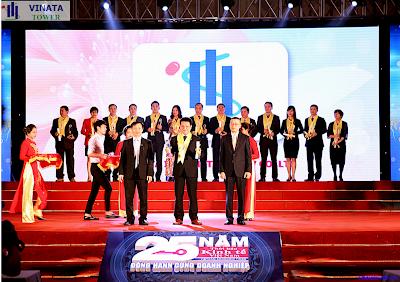 VINATA vinh dự được nhận giải thưởng Rồng vàng 2015