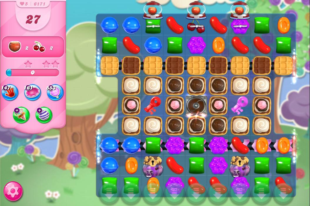 Candy Crush Saga level 6171