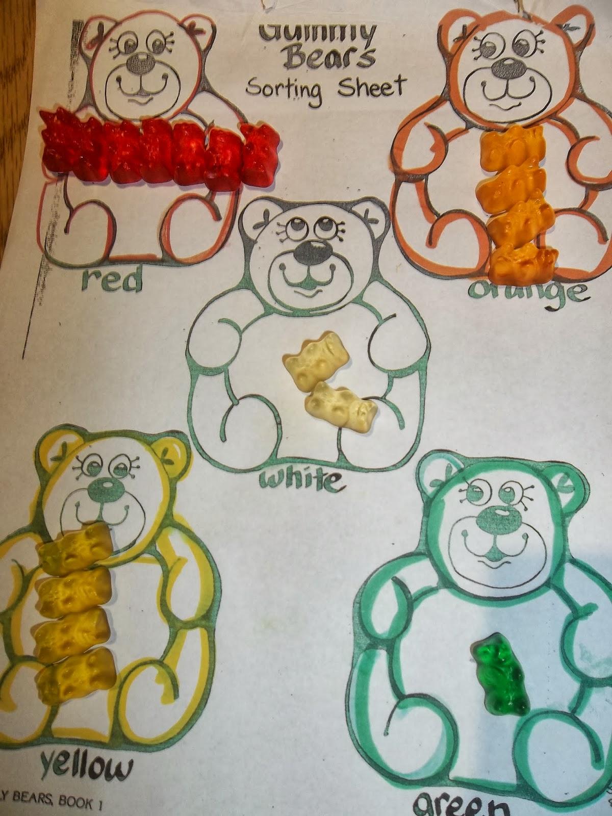 Amazing Action Alphabet Gummy Bear Math