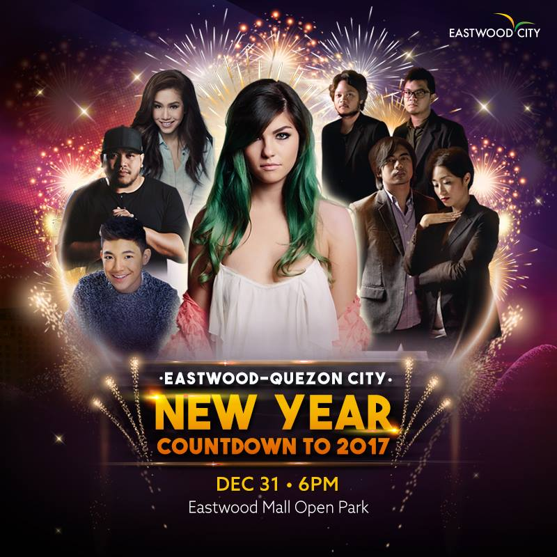 Eastwood - Quezon City New Year Countdown to 2017