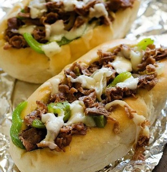 The Most Hearty Cheesesteak Sandwiches