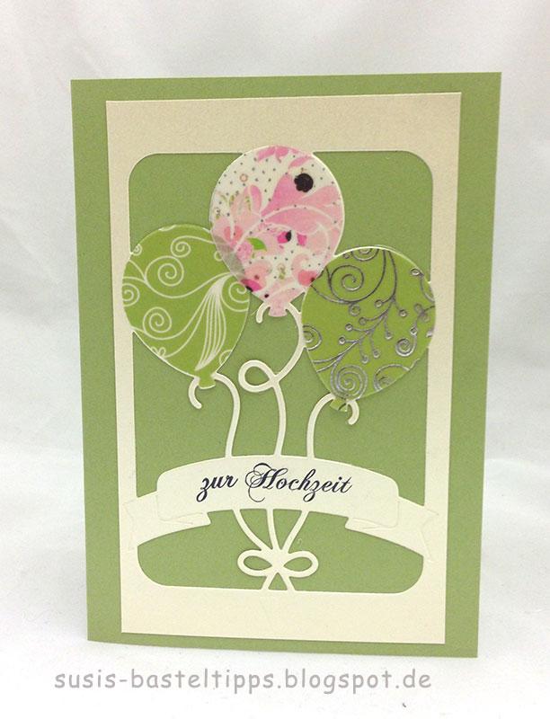 Susi S Basteltipps Hochzeitskarten