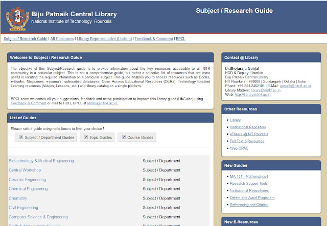 http://library.nitrkl.ac.in/libguide/subjects/index.php