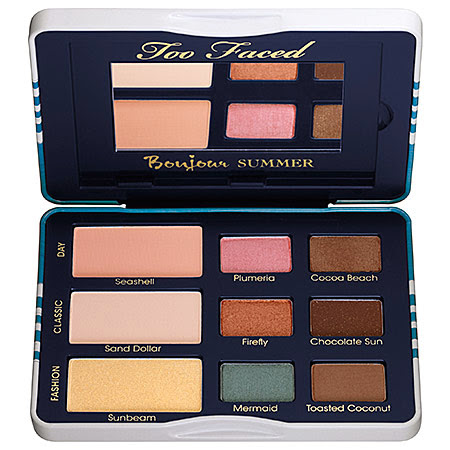 Too Faced Bonjour Summer Palette