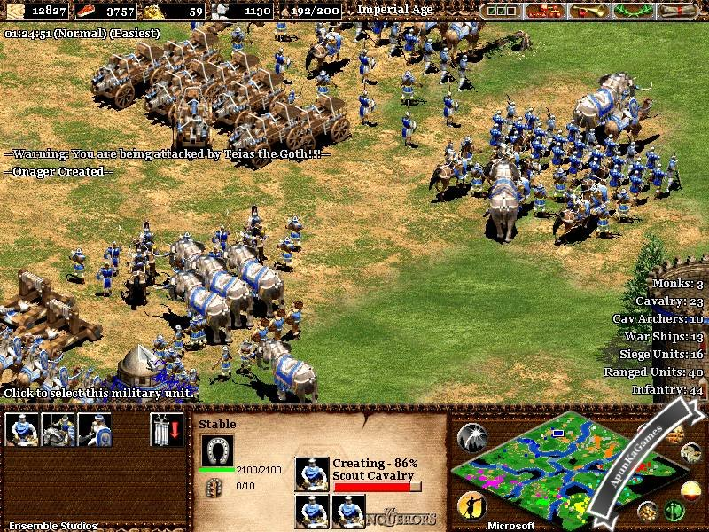 Age of empires game download and play free version!