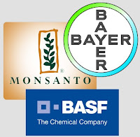 Monsanto, Bayer, BASF