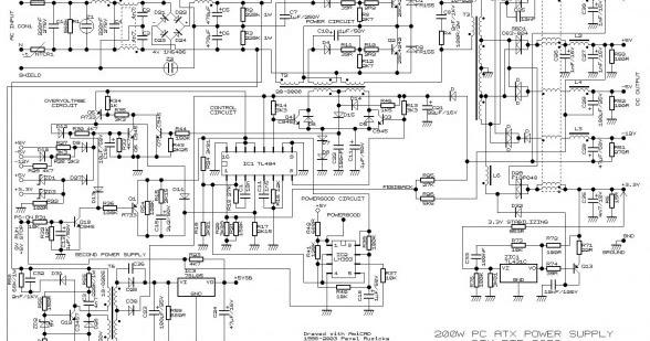 atx power wiring diagram