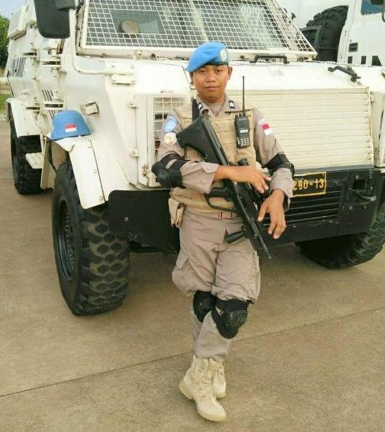 Brigadir Aji Azwardi salah satu Pasukan Perdamaian PPB-Uni Afrika