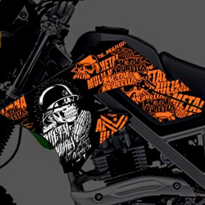 KLX Metal Mulisha Orange