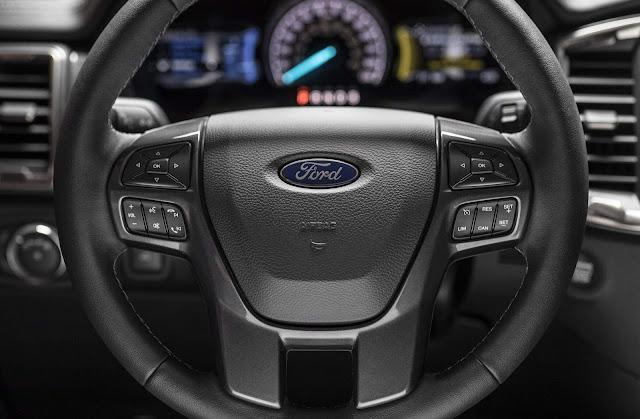 Novo Ford Ranger 2019 - painel