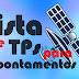 Lista de TPS para Apontamento dos principais Satélites usados em Banda KU