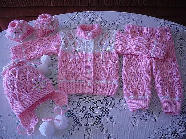 Baby Set Crochet Free Patterns Step By Step Yarn