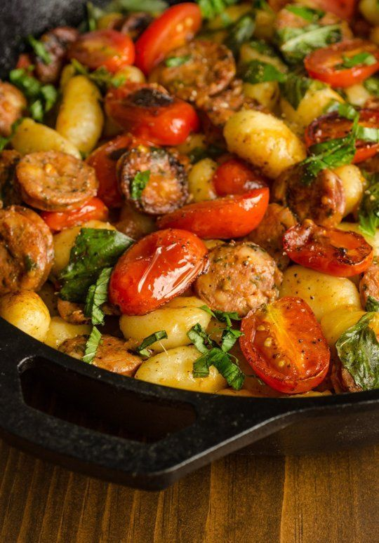 Late summer nights call for easy food that is also fresh and vibrant, abundant with tomatoes, herbs, and other garden booty. This skillet is the dish I make when I want a 15-minute meal with just a handful of ingredients, but one that tastes like summer in the mouth.